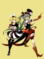 VOCALOIDS by chamooi