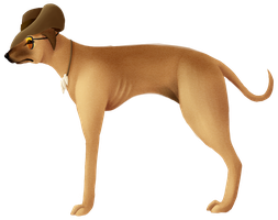 Sniper the Staghound by GirlKirby