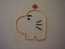 Mr. Saturn Embroidery by toader