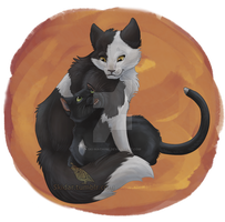 Ravenpaw n' Barley by Ski-Machine