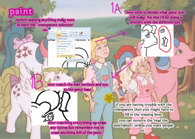 How to Use..... MLP Pony Base- Paint Part 1 by TheYUO