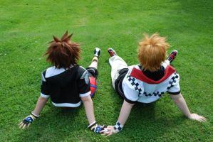 Roxas and Sora - Brotherhood by Millahwood