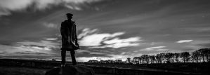 Night Sky with David Stirling by BusterBrownBB