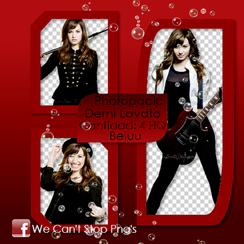 Photopack Png Demi Lovato #16 by BeluuBieberEditions