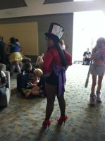 Super Sailor Mars Madd Hatter by MelodicMitsuki