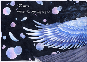 ... where did my angel go? by DreamThestral