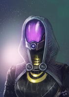 Mass Effect: Tali'Zorah by Emeraldus