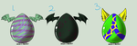 Mystery Egg Adopts Batch 1 *closed* by 4Crystal-Adopts2