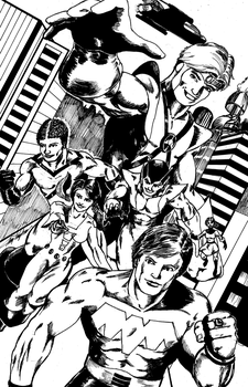 LOSH Commission ink by jaymtaylor