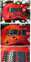 Ibanez RG Loaded Body by Fusillade-Design
