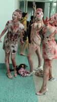 Bubble Head Nurses or Dark Nurs from Silent Hill 2 by trivto
