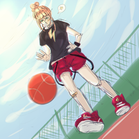 Basketball Color Sketch by torrto
