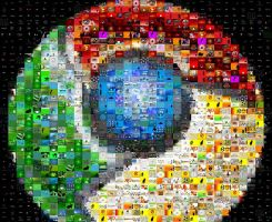 Google Chrome Photo Mosaic by drsparc