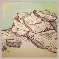 Rock Formation Study by finkgraphics