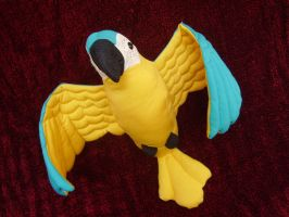 Blue-and-yellow Macaw by NataliaVulpes