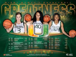 miami wbb poster by Satansgoalie