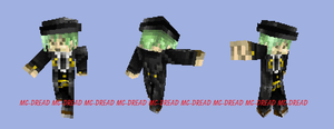 Minecraft-Hazama by MC-Dread