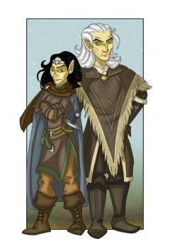 Warrior and Mage by Vedunia
