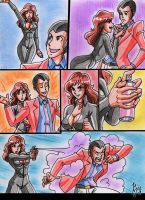 Lupin and Fujiko-Let me try my new spray 1 by batjap