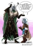 Drizzt vs Drizzit by Caedes-art