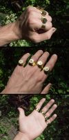 Forged rings of ammunition caliber 30-06 by MoranaDeath