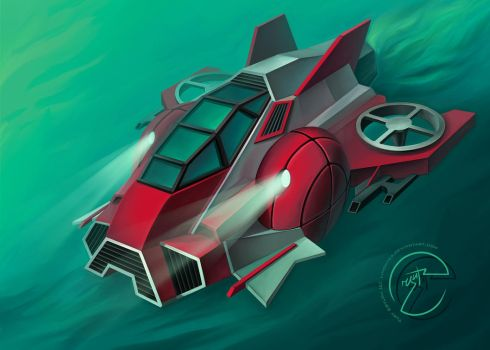 Concept Of Ship by LimonTea
