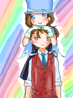 AP: Trucy and Polly by Lilycal