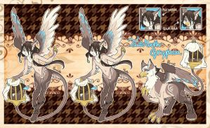 Caged Tailmouth Gryphon Adopt (CLOSED) by Desiree-U