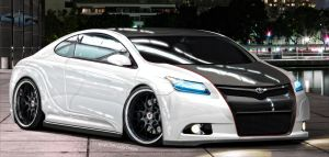 Toyota Concept Coupe by Glacius-Projects
