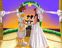 KH Wedding Commission by KittyCatKissu