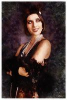 1920s Girl - Oil Painting style by paulnery