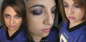 Purple Smokey Eye Makeup by Cinnamoncandy