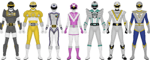 Extra Ranger Project, Set 2 by Taiko554