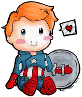 Cap Chibi by wondering-souls
