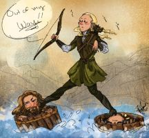 Legolas the Faboo by RennaLorie