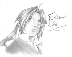 Edward Elric~ by LaurenLuvsAnime