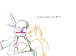 I wanna see you be brave by OfYawnsAndSleeps
