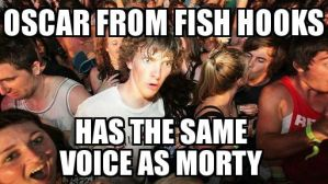 Sudden Clarity Clarence-Justin Roiland by Tdf666