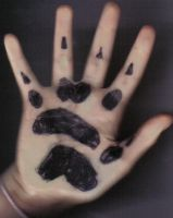 Paw Prints Tattoo Design by Therian-Club