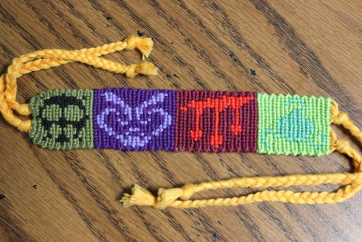 Homestuck God Tier Bracelet by Bookworm1994
