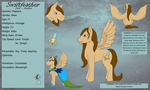 Reference Sheet - Swiftfeather by DragonCuali
