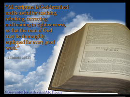 All Scripture is God-breathed by ServantofJesus