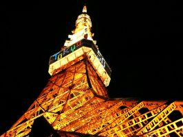 TokyoTower by fabemiko-stock