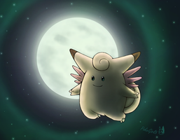 036 Clefable by PokeGirl5