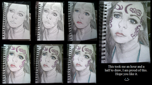 My steps to drawing of Professor Nolan - HoN by Horsey-Luver450