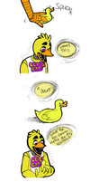 Sad Chica by coulrophiliacs