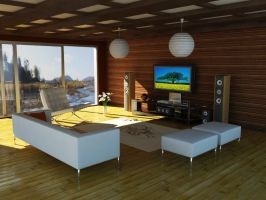 Simple indoor by lzooml