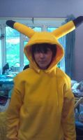 pickachu hoodie by willowthepixie