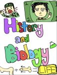 History Biology binder cover by Taishoom