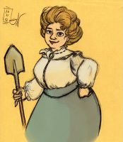 Lady Sybil Ramkin-Vimes by kayananas